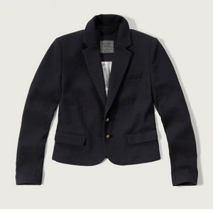 Abercrombie and Fitch navy wool blazer